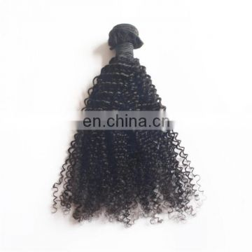 Stock indian virgin hair bundles remy afro kinky african human hair extension