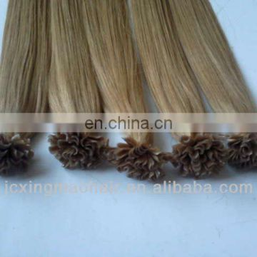 Hot Selling Unprocessed Russian Human Hair Extensions 1g Strand 7A U Tip Hair Extensions,keratin fusion human hair extension,