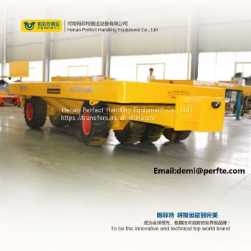 40 ton no powered plant transfer trailer for outdoor material transport