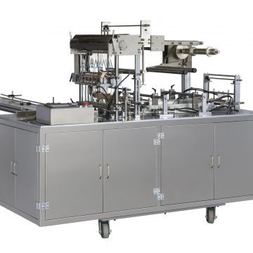 4.5kw Skin Packaging Machine Cellophane Packing Machine