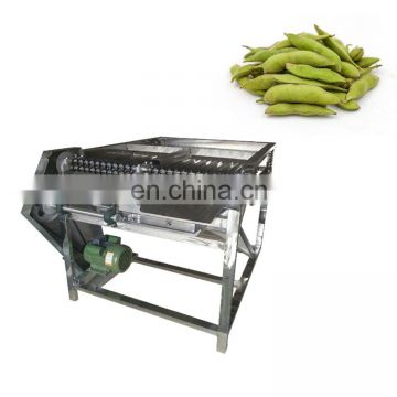 Multi-function fresh green pea shelling machine with 50-500kg/h soy bean Edamame sheller machine