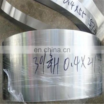 1.5mm Thick 420j2 430 304 stainless Steel band Strip strap