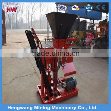 High production Hydraulic press Fully automatic cement concrete brick block making machine