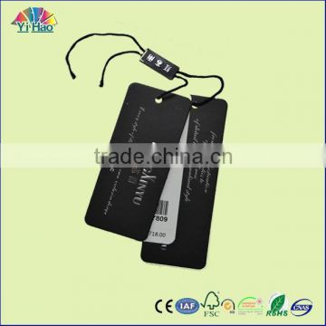 high quality folded hang tag , printing folded hang tag
