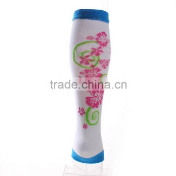Fashion knit cotton leg warmers with flower pattern wholesale baby leg warmers                                                                                                         Supplier's Choice