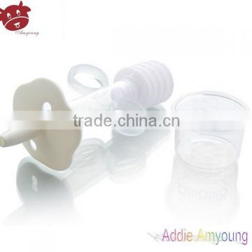 PP Baby Feeder Medical Glass Dropper Bottle Cap Wholesale Baby Syringe Medicine Dispenser