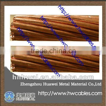 bare stranded copper conductor with the purity above 99.95% of bare ...