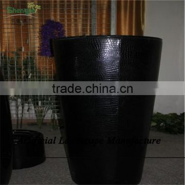 SJZJN 2659 modern outdoor planters / fiberglass planter / clay flower pot wholesale