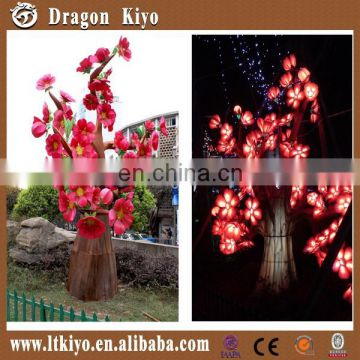 2016 amusement park inner led chinese cloth lantern lighting city