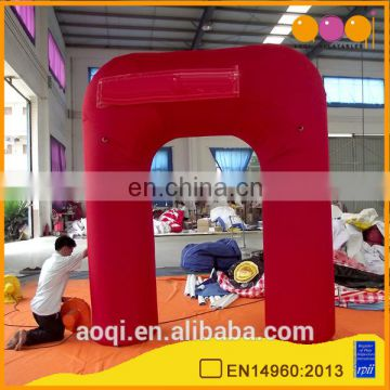 cheap inflatable mini red Arch inflatable arch support