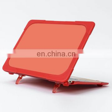 New Arrival Hard PC Cover Case with Stand forMacBook 12 Inch