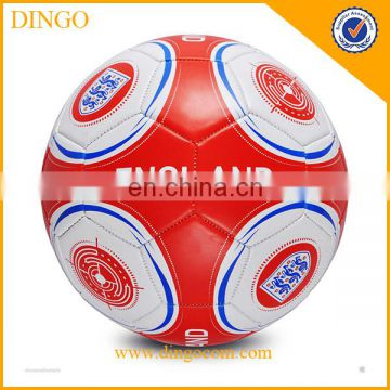 soccer football/pvc plastic 6p soccer toy ball