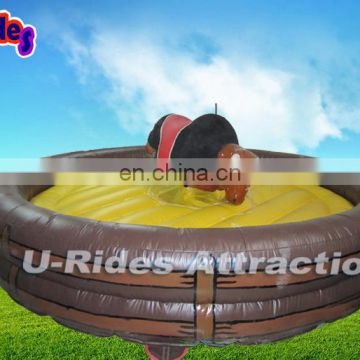 Capacity 400 KG Inflatable Mechanical Big Body Bull For Sale