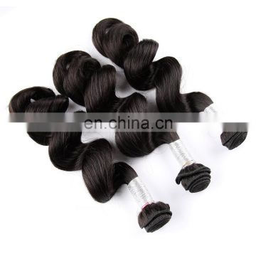 cuticle aligned hair quality loose wave 8A grade remy brazilian human hair weaving