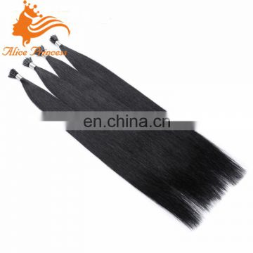 Jet black i tip blonde hair extensions 50g/set and 100g/set 0.5g/s stick human hair extensions 7 days shipping to Moscow