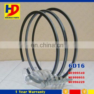 Diesel Engine 6D16 Piston Ring ME999540 ME999955 108MM ME996229