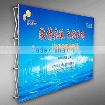 Pop Up Banner Stand Type High quality full hook and loop Pop Up Display for trade show                                                                                                         Supplier's Choice
