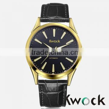 Top quality oem man luxury watch modern item watch, simple leather strap watch, especially for young men