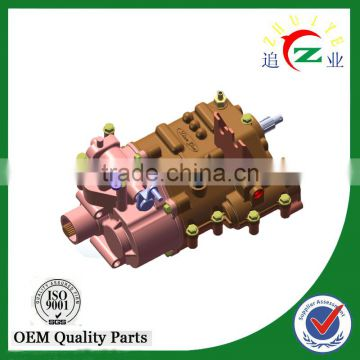 2016 factory heavy duty three wheeled vehicle transmission parts 5+2 gearbox
