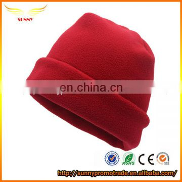 Flannelette cap girls winter beanie hats