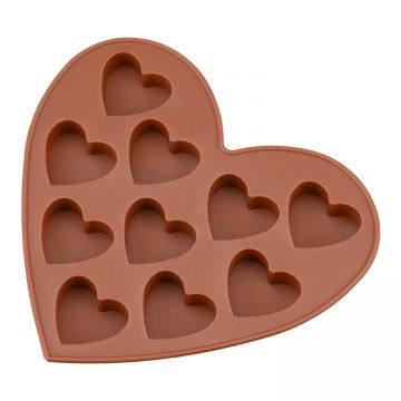 Free Sample Food Grade Heat resistant Nontoxic Silicone Cake Mold Baking Mousse Pudding Chocolate Mold Tool Love Shape