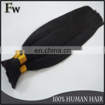 Full cuticle top quality virgin human hair fast shipping natural raw indian hair