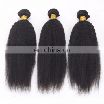 2017 hot sale kinky straight 8a grade brazilian hair wholesale hair weave distributors