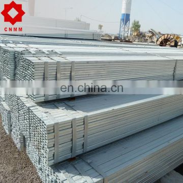 hot dipped rectangular tube steel pipe price shs s355 square hollow section