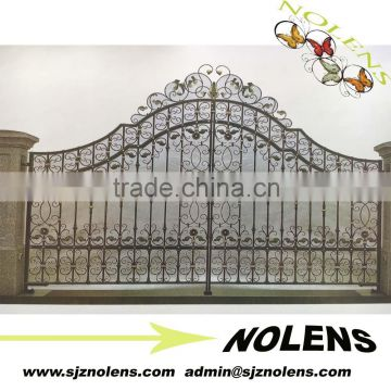 ornate wrought iron gate old style ornamental wrought iron gate and metal driveway design for garden