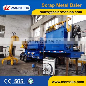 Portable Scrap Metal Baler Machine with Grab Y83D-3000A