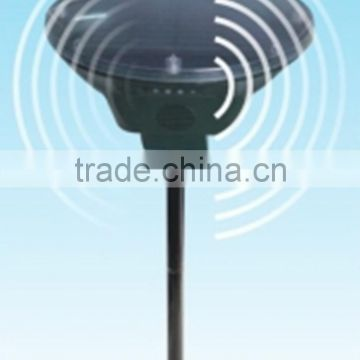 High efficiency Outdoor Eco-Friendly Solar Power Ultrasonic bird repellent motion activated bird repellent