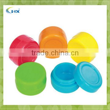 Food Grade Small Silicone Cosmetic Jar For Outdoor Use