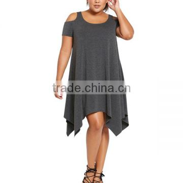 plus size one piece western dresses for fat girls fat women ...