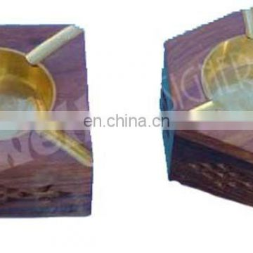 DIFFERENT SHAPE WOODEN ASHTRAY HOUSE CAR CIGRATTE GIFT