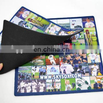 OEM Design Printed Cloth Rubber Mousepad