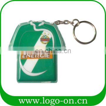 Wholesale Pvc Led Puffy Led Keychain Personalized Solar Car Brand Keychain