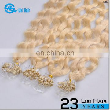 Top Sold Seller Factory Buy Wholesale Tangle Free microlink remy human hair extension