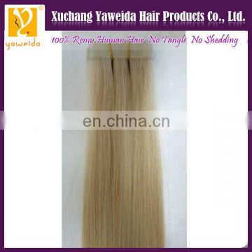 High quality PU tape hair extension remover remy hair extensions china supplier
