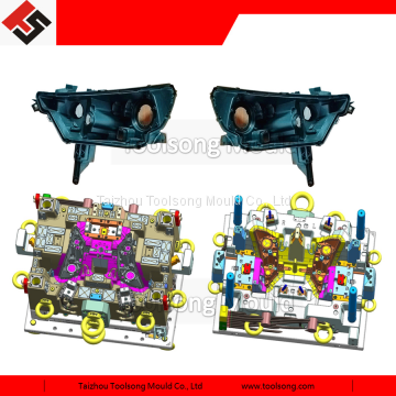automobile headlight mould, head lamp housing injection mold for OEM and after market