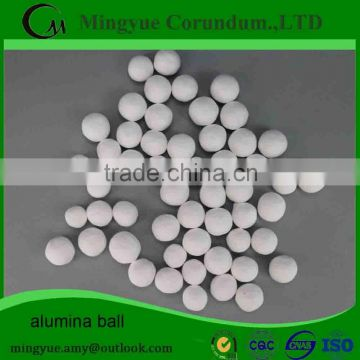 lining bricks high 92% Al2O3 Alumina refractory ball