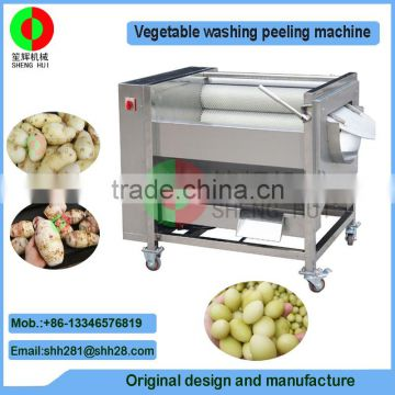 New developed hot sale potato peeling machine brush potaot washing machine
