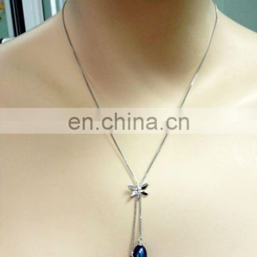 Elegant ladies pearl necklace---good choice for Christmas
