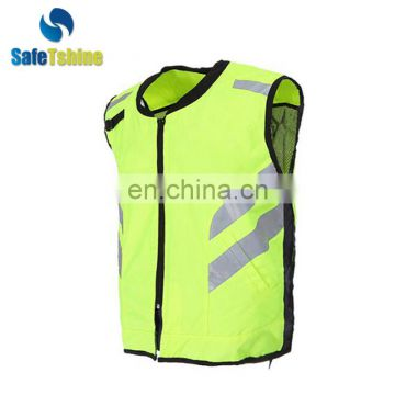 Latest design cheap high visibility sport exercise reflective running vest