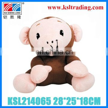 28CM children funny kids plush monkey toy
