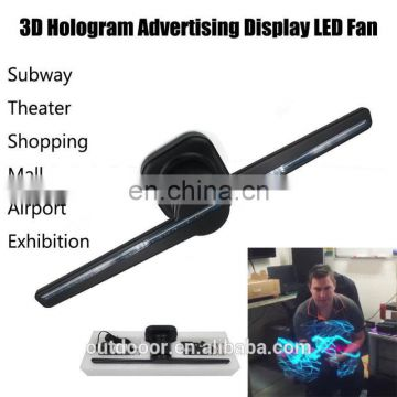 factory wifi interactive projector mini Dynamic 3D Holographic Display Hypervsn Hologram Projector mall advertising