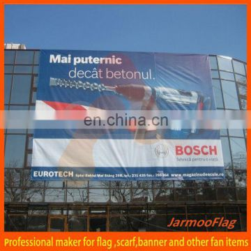 outdoor advertising building wrap banners
