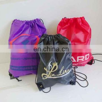 wholesale custom printed drawstring shoe bags