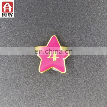 Hot sales iron gold plating badge emblem