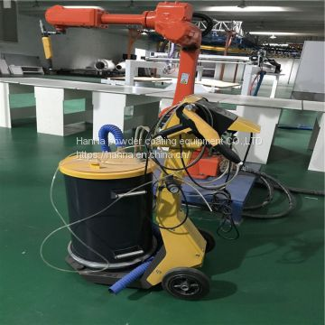 Manual power coating machine