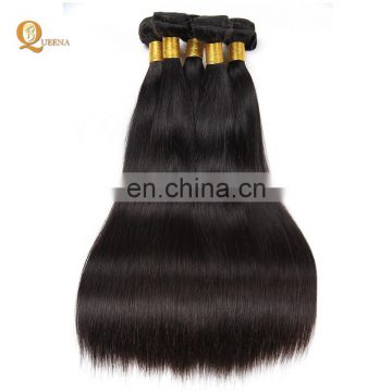 Wholesale 100% Virgin Hair Extension 7a Brazilian Silky Straight Brazilian Human Hair Weave